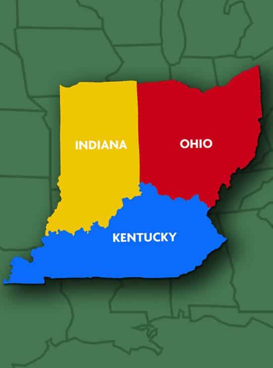 map of ohio indiana and kentucky Dqvt6pusga2ycm map of ohio indiana and kentucky